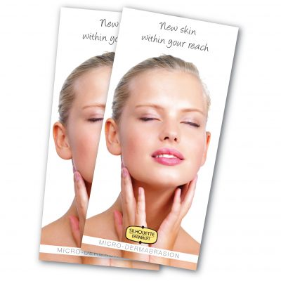 Microdermabrasion Point of Sale Leaflets