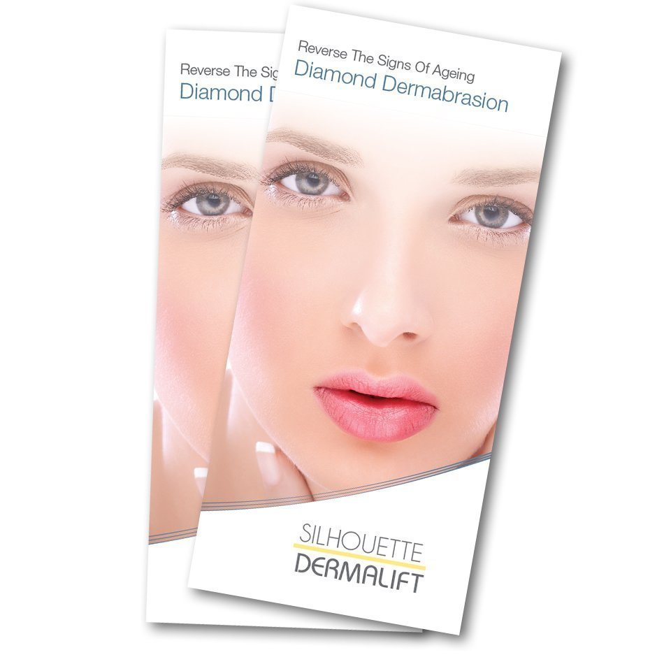 Diamond-Dermabrasion Point of Sale Leaflets