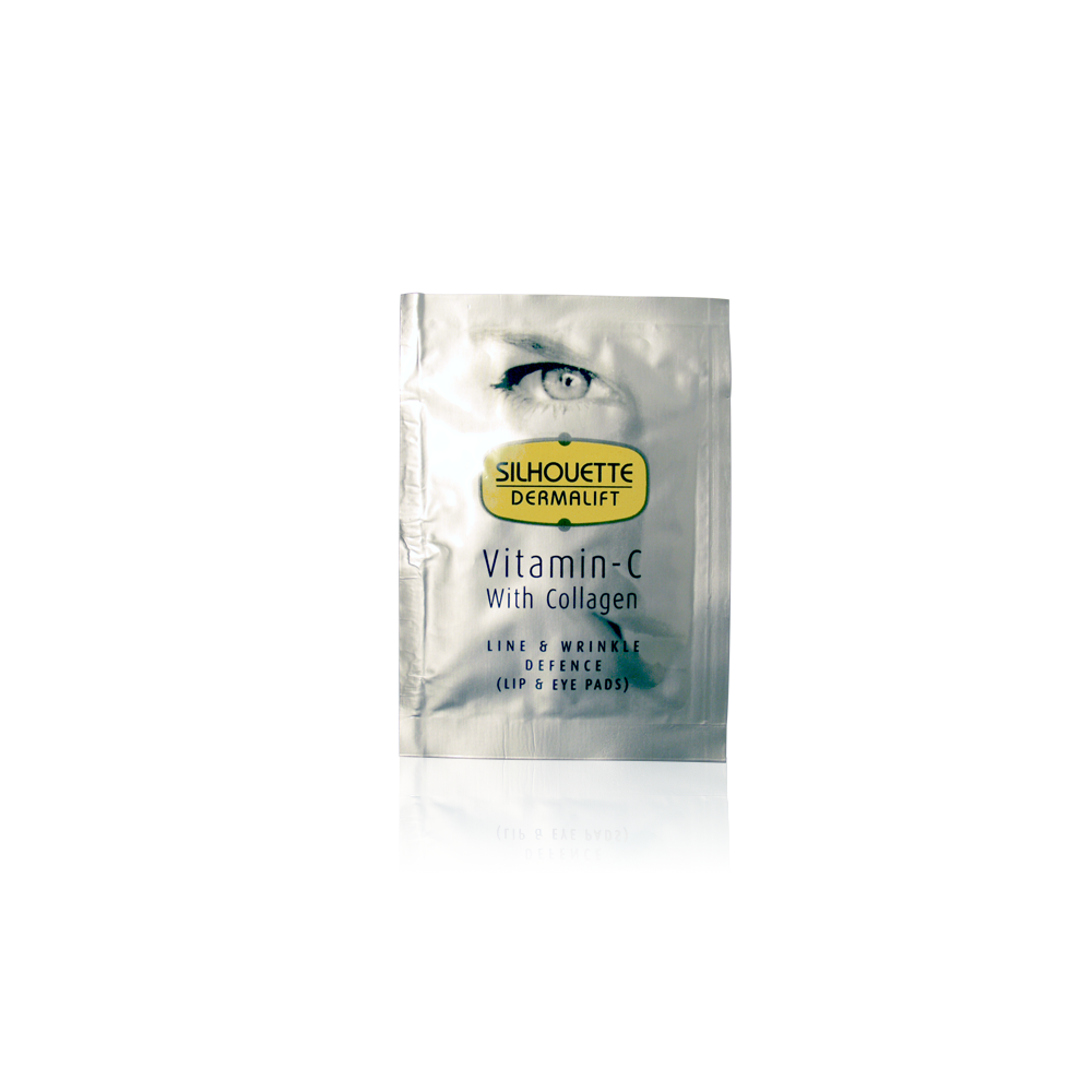 Lip & Eye Pads With Vitamin C & Collagen
