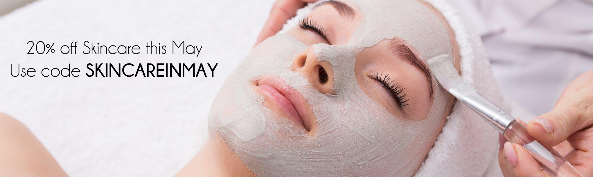 Skincare 20% off